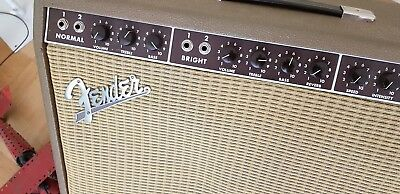Fender Vibroverb Brown Face Tone tubby red