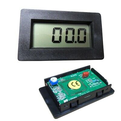 Panel-Meter PM438, Einbaumessinstrument, digital, 67x40mm, LCD 3,5x, universal
