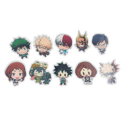 Anime Boku no Hero Academia Brosche Acryl Cartoon Figur Pins Buttons Fanmade Süß