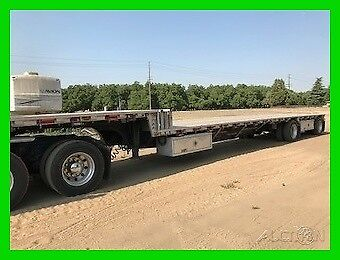 2014 Western Stepdeck 48x102,22.5LP,Straps and Chains,Tandem