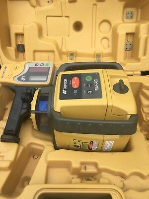 Topcon RL-H4C Self-Leveling Slope Rotary Laser Level w/ Receiver - 313980772