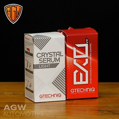 Gtechniq Crystal Serum Light & EXO V4 30ml Hydrophobic Nano Ceramic Car Coating