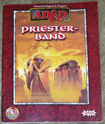 AD&D Advanced Dungeons & Dragons Priesterband