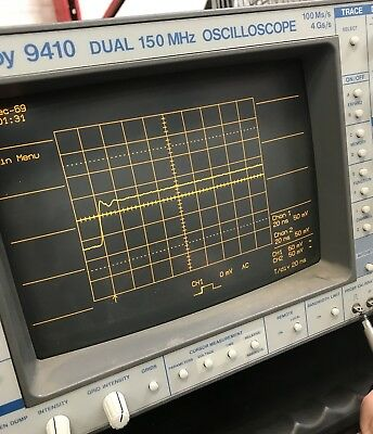 Oscilloscope LeCroy 9410 dual channel 150MHz 4Gs/s