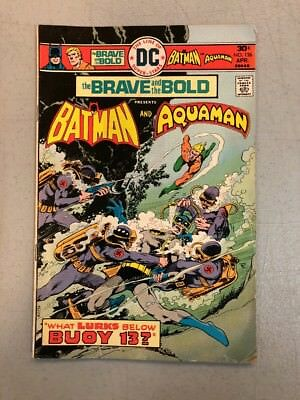 The Brave And The Bold 126 Batman Aquaman 1976 VG