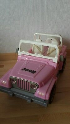 Barbie-Auto Jeep in pink