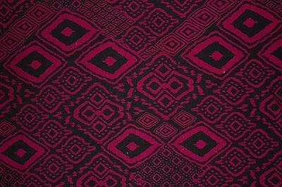 187d7d1d5a2 Maroon Black Ethnic Jersey Knit Print #121 Cotton Spandex Lycra Fabric BTY