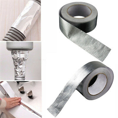 48MM Automobile Exhaust Pipe Roll Adhesive Foil Sealing Tape Heating Repair M&R