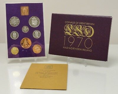 1970 Coinage of Great Britian and Northern Ireland proof set, 66368A