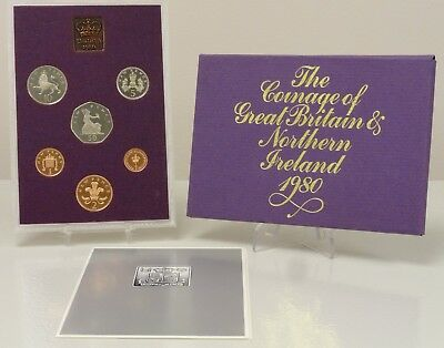 1980 The Coinage of Great Britian and Northern Ireland proof set
