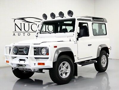 1997 Land Rover Defender 90 97 LAND ROVER DEFENDER 90 - WHITE/ BLACK - FULLY DOCUMENTED RESTORATION!! CLEAN!