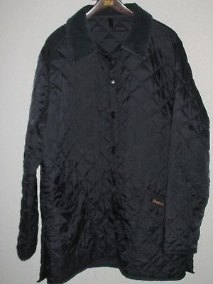 BARBOUR Light Weight Navy Jacket-Size Large