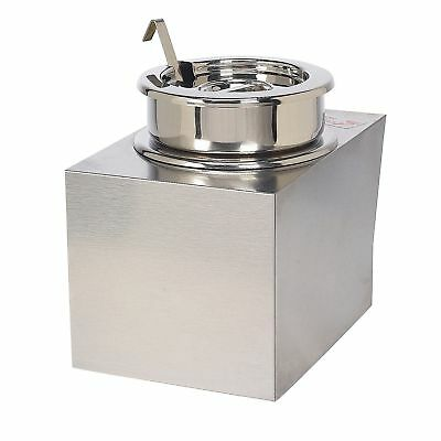 Gold Medal Nacho Cheese Warmer With Insert Bowl