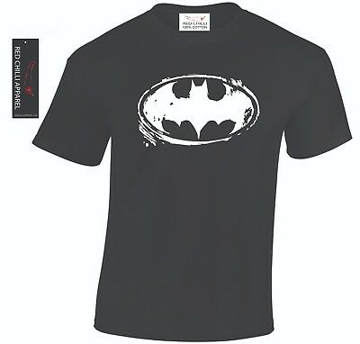 Batman Inspired Distressed T-Shirt