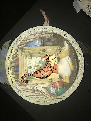winnie the pooh collector plates