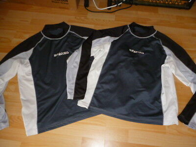 2 Packeis Trikot Longsleeve XL Techtex Lycra Shirt Jersey Maillot Paintball