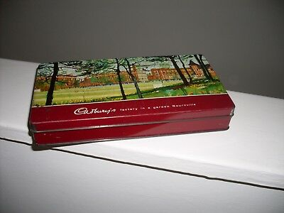Vintage collectable Cadbury's Factory tin - 1970s