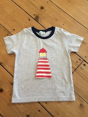 Lilly & Sid Grey Seagull/ Lighthouse top 18-24 months
