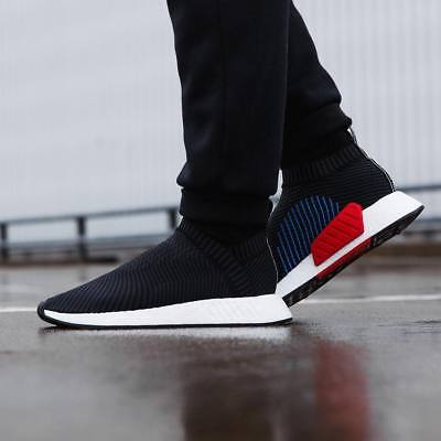 new arrival 053eb 6ba16 Adidas NMD CS2 PK size 13. Black Red Blue White. CQ2372. primeknit ultra