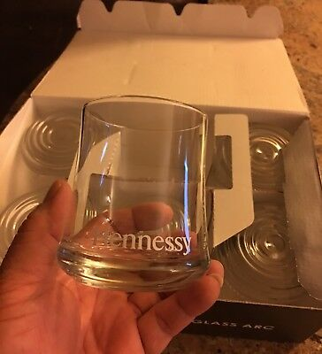 Hennessy Cognac Cocktail Glasses Set Of 6 pcs. Brand New !!!!!