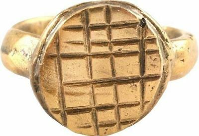 EARLY CHRISTIAN GIRLS RING 7th-9th CENTURY AD