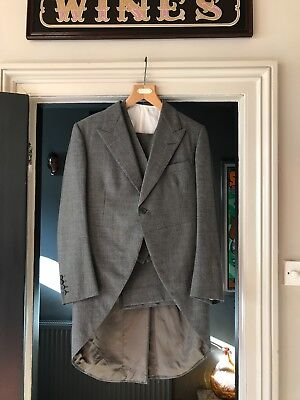 Vintage Saville Row quality Grey Morning suit - Wedding suit- size 40 New price!