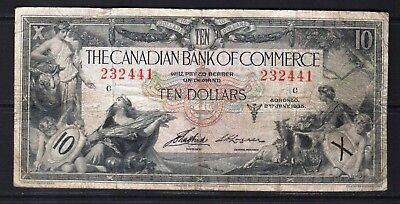 Canada - 2.1.1935 Canadian Bank of Commerce 10 Dollars Banknote Pick#S971 aFine
