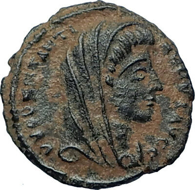 Divus Saint CONSTANTINE I the GREAT 347AD Authentic Ancient Roman Coin i68180