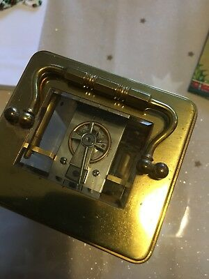 Antique French carriage clock. With key.