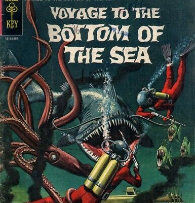 Voyage To The Bottom of the Sea & Voyage To The Deep -  Comics on DVD