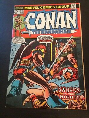 CONAN THE BARBARIAN #23 - 1st app RED SONJA - Barry Smith art - Bronze Age 1972
