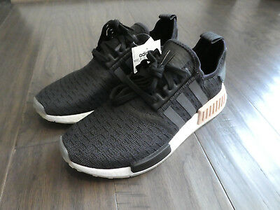 10333954f Adidas Women s NMD R1 Boost shoes sneakers new CQ2011 Black Carbon White