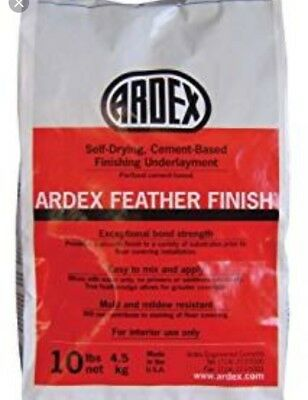 Ardex Self-Drying Cement Based Feather Finish 10 Pound Bag - Pack of 8
