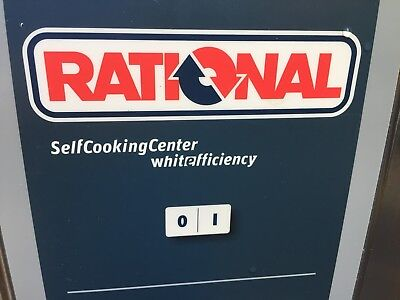 RATIONAL combi oven 62 electric.clean with RATIONAL  stand and accessories