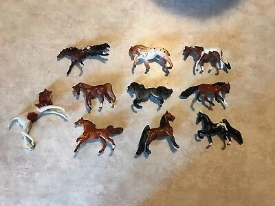 Breyer Mini Whinnie Lot With Stablemate Foal