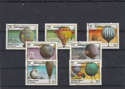 Kampuchea 1983 First Ascents Man Atmosphere 7 Tp Cancelled Yt 393 A 399