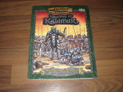D&D 3.5 Edition Strength and Honor The Mighty Hobgoblins of Tellene K&C 2003