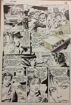 Lois Lane Original Artwork By Gray Morrow