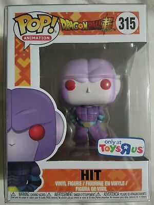 Funko Hit Toys R Us Exclusive Dragonball Super Z Dbz Dbs With Pop Protector New