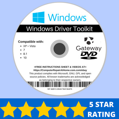 GATEWAY WINDOWS DRIVER Software Repair NV-49C51n NV-49C63n NV-49C64n  NV-49C67n