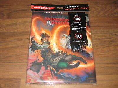 D&D 5th Edition RPG Character Folio Wizard Ultra Pro New Sealed