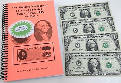 New *Web Note* Price/info Guide Plus 4 RARE Notes Start Collecting -  FREE SHIP