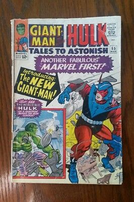 Tales to Astonish - Giant Man and The Incredible Hulk #65 March 1965