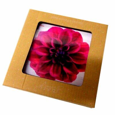 RED FLOWER CERAMIC TILE 'Grandmother's Love Lives in your Heart' -WALL MOUNTABLE