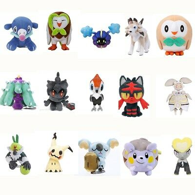 6''-17'' Pokemon Center Pokemon Sun and Moon Alolan Stuffed Figure Plush Doll