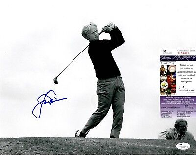 Jack Nicklaus Signed 11x14 Photo w/ JSA COA #V80307