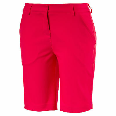 PUMA Golf Damen Pounce Bermudas Frauen Webshorts Golf Neu