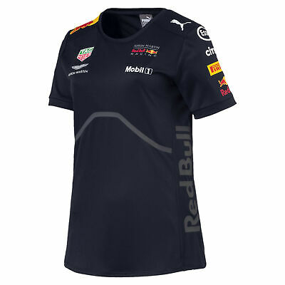 PUMA ASTON MARTIN RED BULL RACING Damen Team T-Shirt Frauen T-Shirt Neu