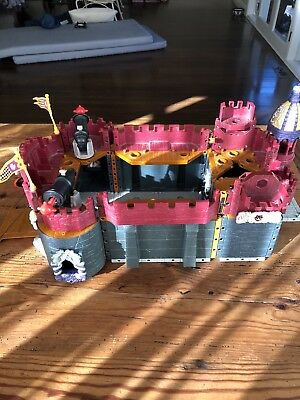 Fisher Price Imaginext Medieval Toy Castle With Figurines