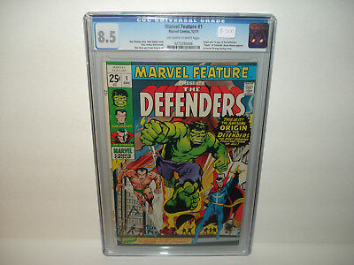 Marvel Feature #1 (Dec 1971, Marvel) CGC 8.5 First Appearance of the Defenders